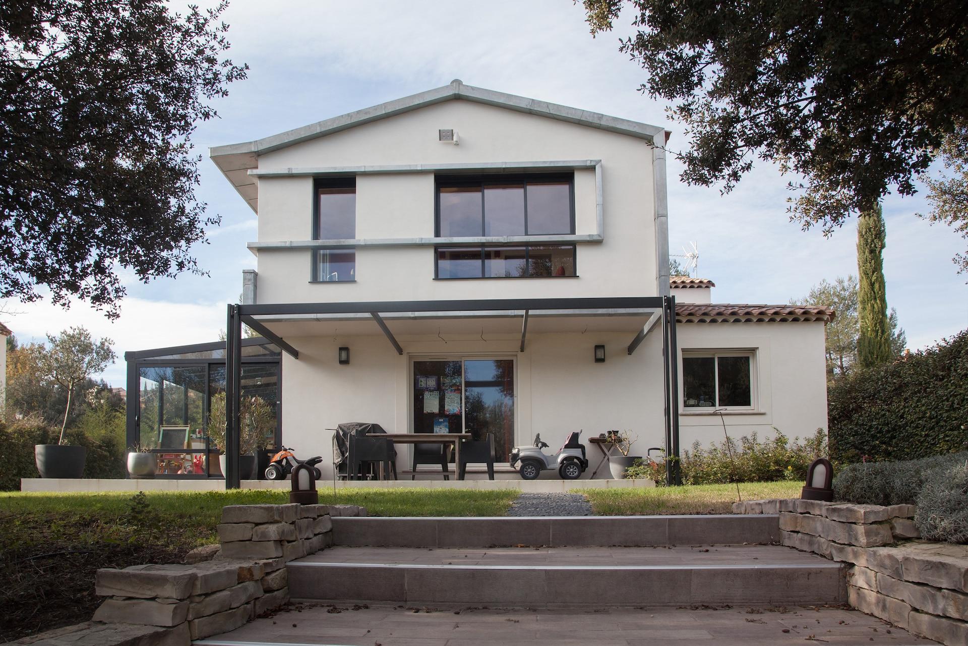 Jupinet Solari Architecte ~ Surelevation Bois Aix En Provence